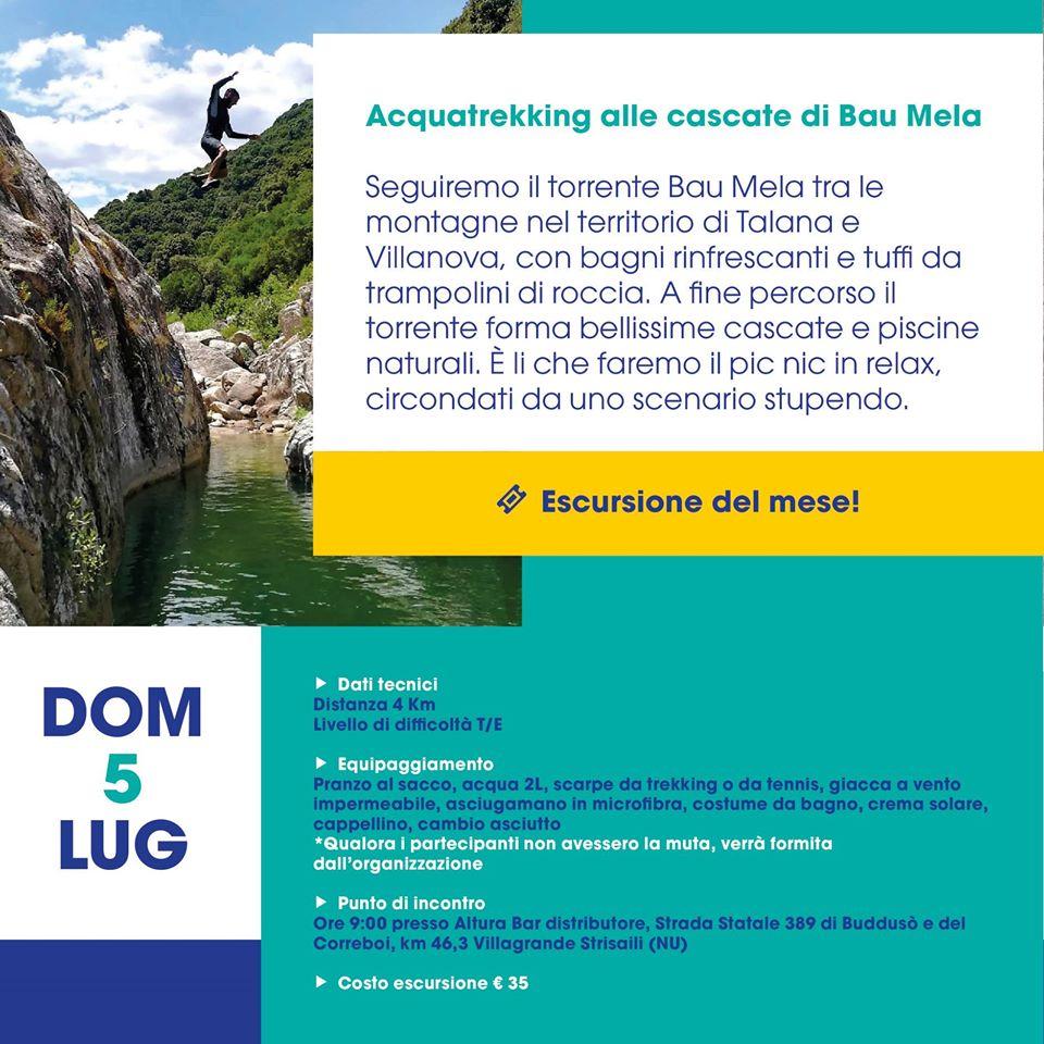 Aquatrekking to the Bau Mela waterfalls
