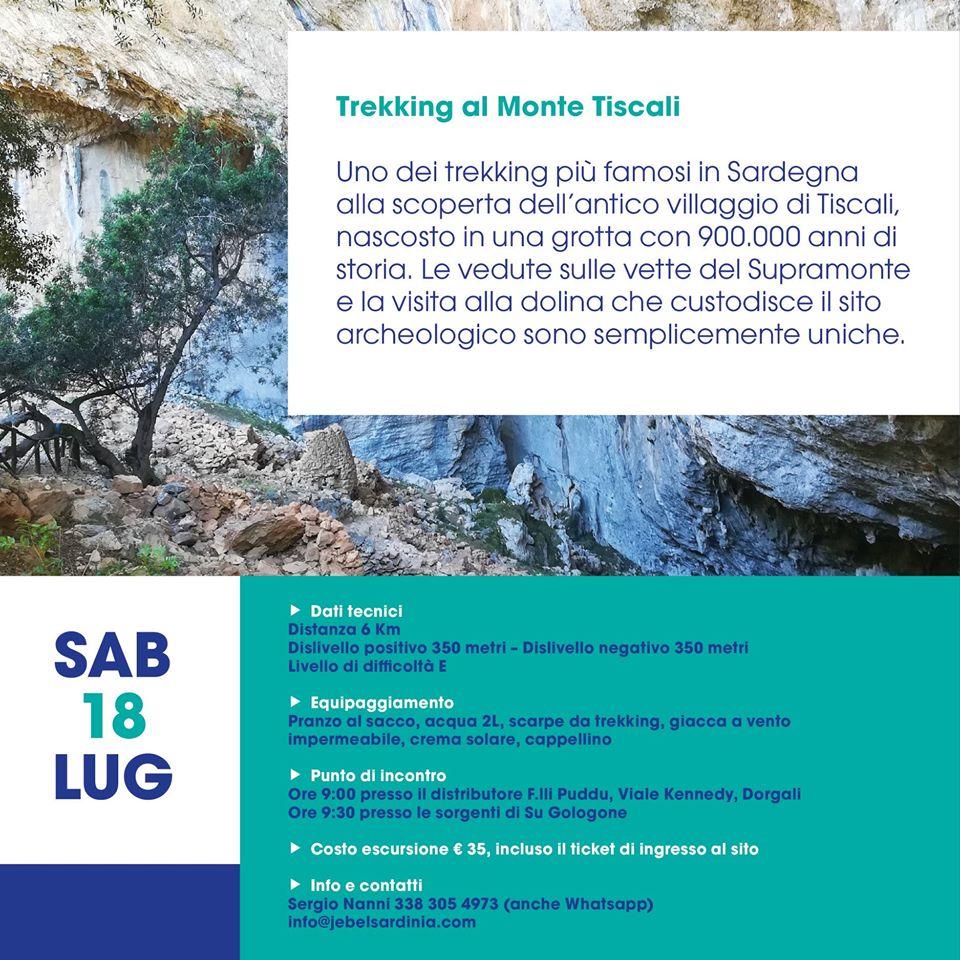 Trekking to Monte Tiscali
